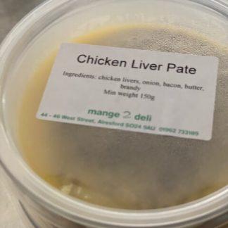 Chicken Liver Pate - £3.95