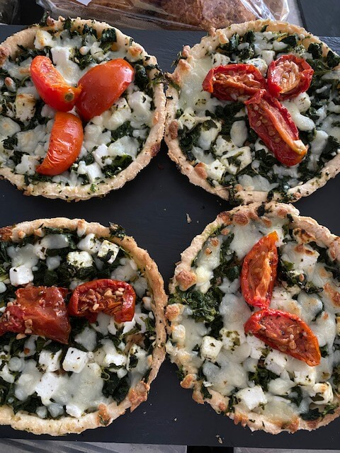 Goats Cheese Tart - £3.95