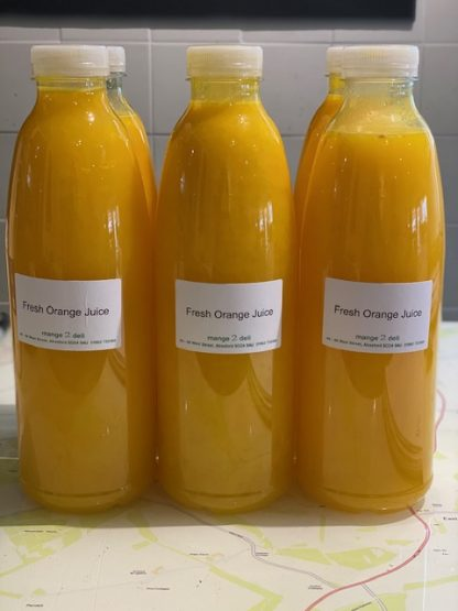 Fresh Orange Juice -1 Litre - £6.50