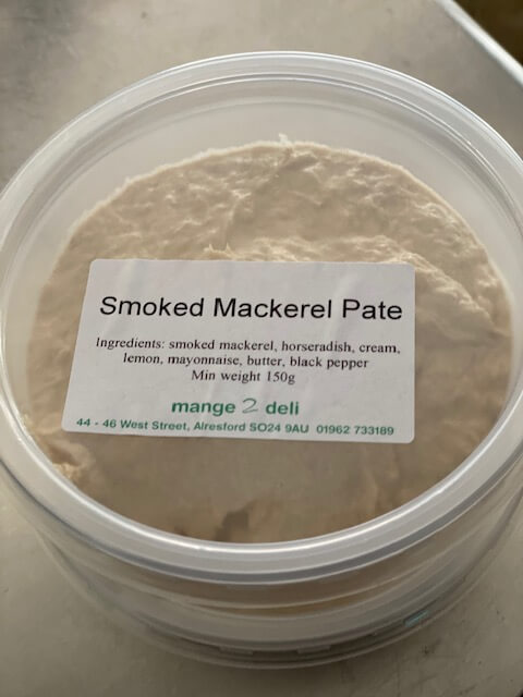 Smoked Mackerel Pate - £3.95