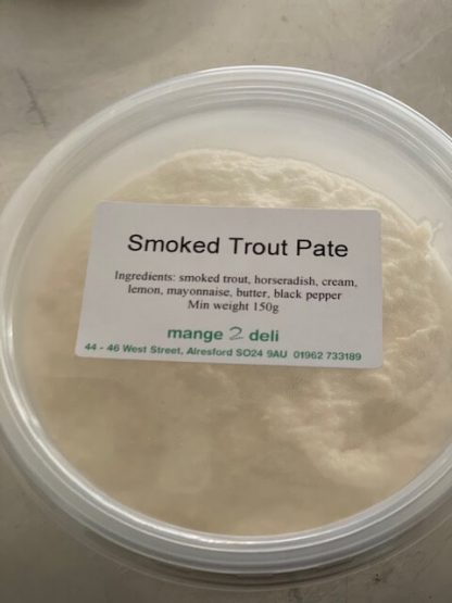 Smoked Trout Pate - £3.95